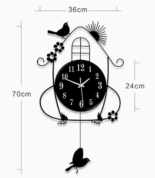 นาฬิกาแขวนแต่งบ้าน