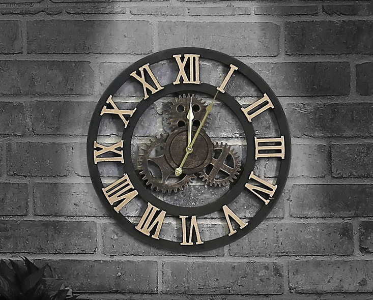 นาฬิกาติดผนังวินเทจ
