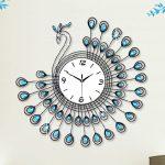 นาฬิกาติดผนัง รุ่นนกยูงฟ้า JT1381