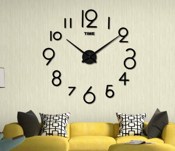 นาฬิกาติดผนังไม่ต้องเจาะ