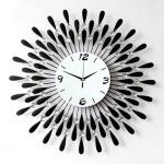 นาฬิกาติดผนังโมเดิร์น รุ่นใบไม้พลอยเล็ก
