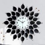 นาฬิกาติดผนัง รุ่น JT1204 ใบโพธิ์ดำ