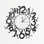 นาฬิกาติดผนังสวยๆ รุ่นกกไข่กลม