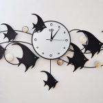 นาฬิกาติดผนัง Modern Style รุ่นปลาเทวดา
