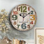 นาฬิกาติดผนังวินเทจ รุ่น BISTROT de PARIS