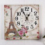 นาฬิกาติดผนัง Vintage รุ่น B-02-1 ไอเฟล
