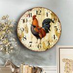 นาฬิกาวินเทจแขวนผนัง รุ่นไก่แจ้