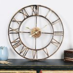 นาฬิกาแขวนผนังสไตล์ลอฟท์ รุ่นโรมันใหญ่